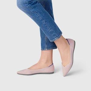 Rothys petal pink pointed toe flat